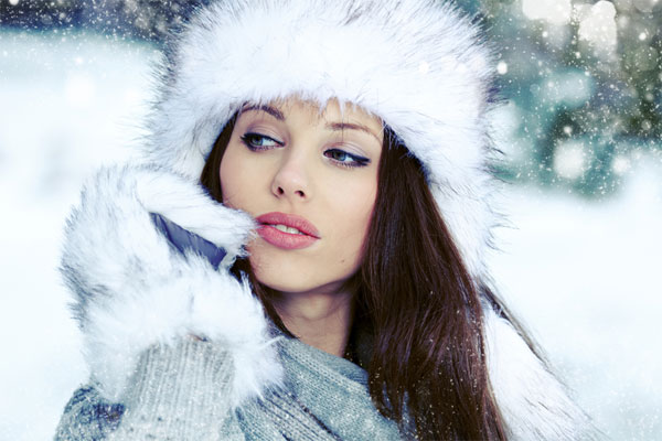 kış aylarının makyaj trendleri