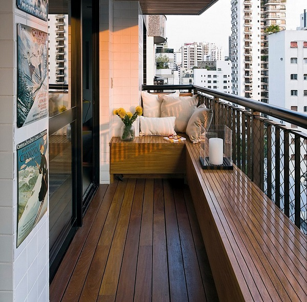 ahşap balkon