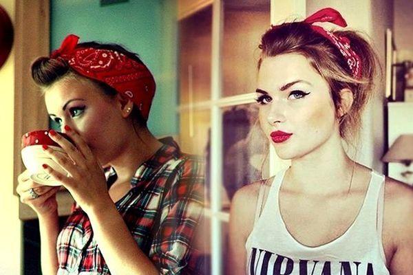 Saç bandı - moda aksesuarı